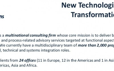 New Technologies Consultant